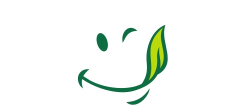 Smiley leaf logo