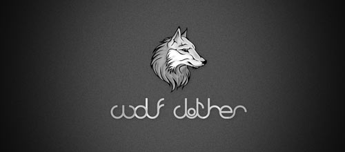 Wolf clothes logo