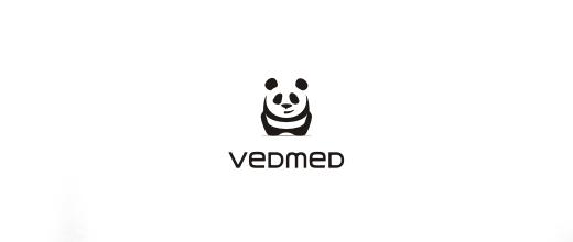 Web design panda logo