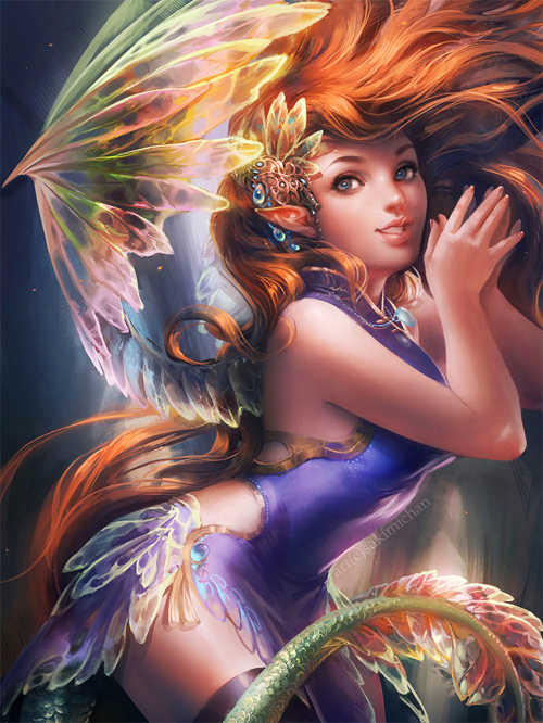 Beautiful fairy illustrations artworks
