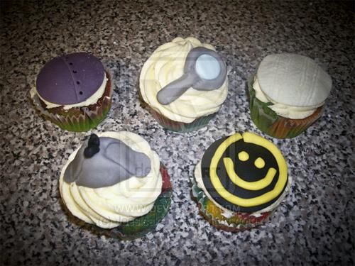Sherlock cupcake design inspiration