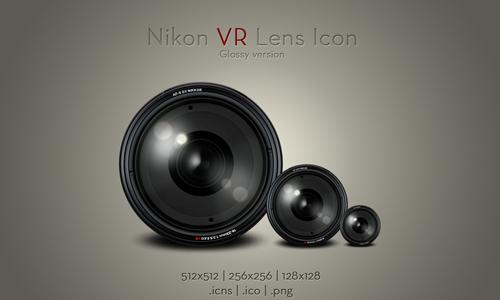 Nikon VR Lens Icon v2