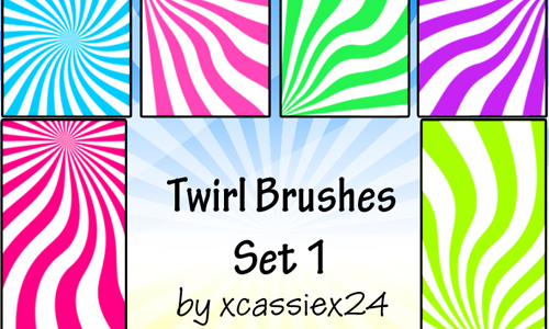 Twirl Brushes Set 1