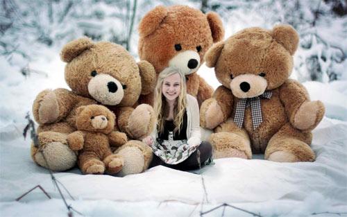 Teddy bear computer wallpaper