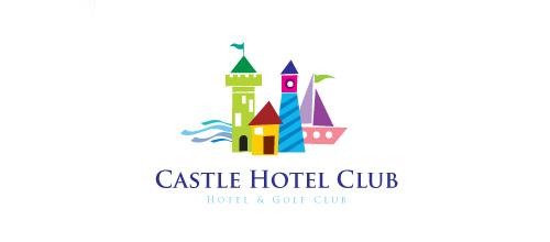 Hotel boat castle logo