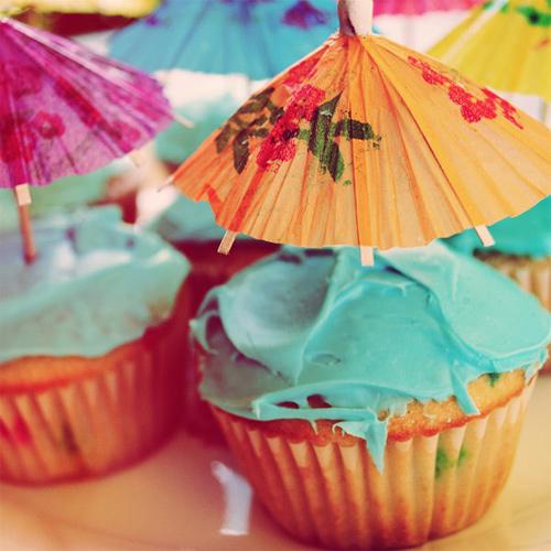 Umbrella cupcake design inspiration