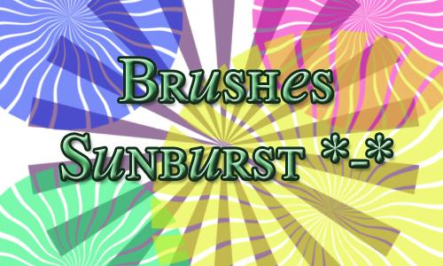 Sunburst brush