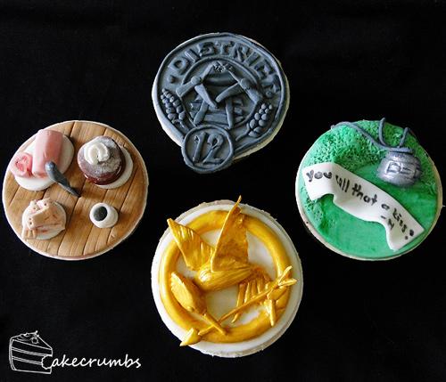 Hunger games cupcake design inspiration