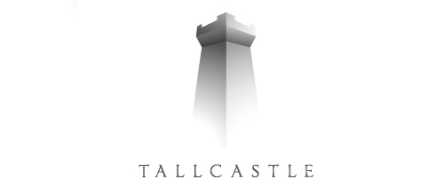 Tall castle logo