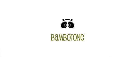 Headphone panda logo