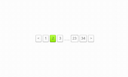 Pagination Concept (Animated)