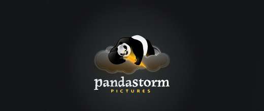 Film company panda logo