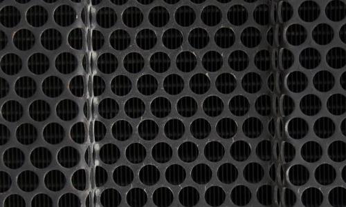 Black grid texture