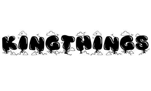 Kingthings Bloone! font