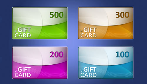 web banner cards