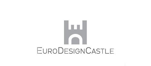 Euro castle logo