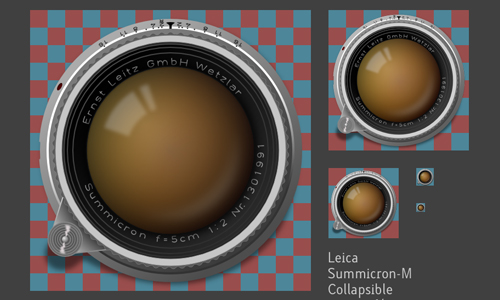 Summicron-M 50mm Collapsible icons