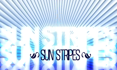 Sun Stripes Brushes