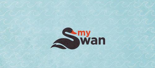my swan logo
