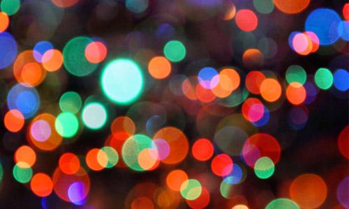 free bokeh Christmas texture