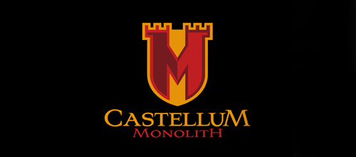 Monolith business castle logo