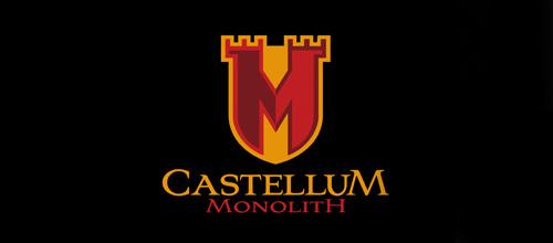 Monolith business castle logo