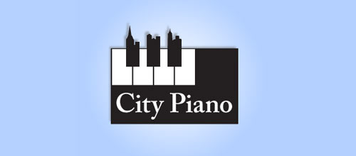 City Piano logo