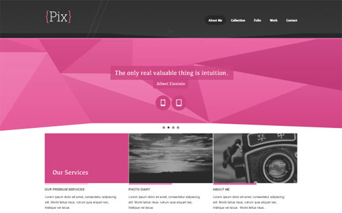 35 well designed psd website templates for free download naldz pix free psd website design pronofoot35fo Choice Image