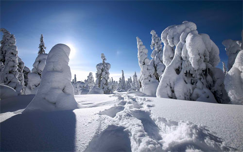 winter in finland 102481 Wallpaper