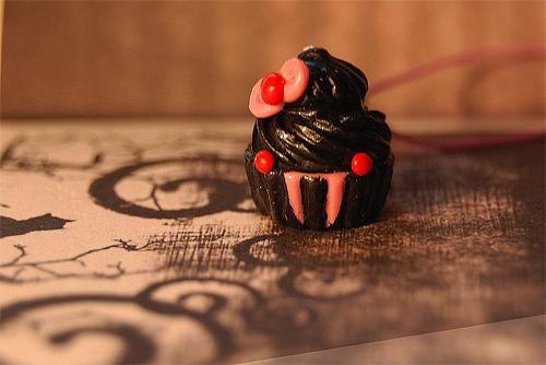 Vampire cupcake design inspiration