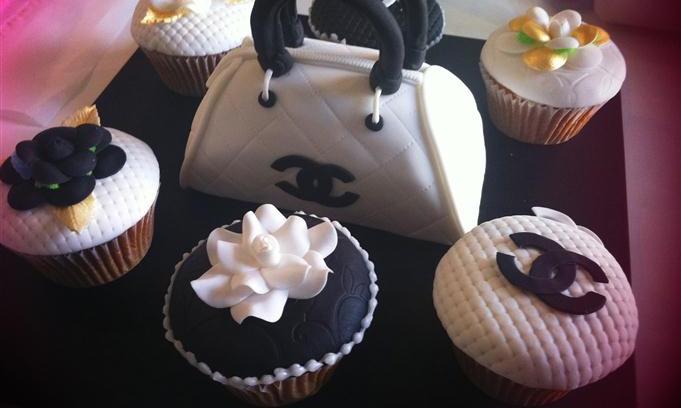 Bag cupcake design inspiration