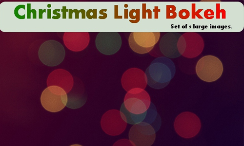 Bokeh light christmas textures