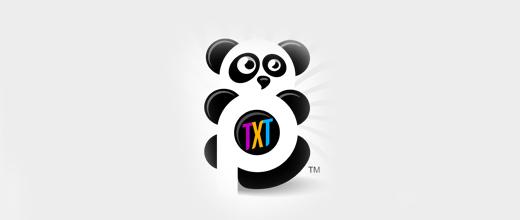 Nice panda logo