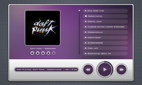 Freebie 05: Music Player