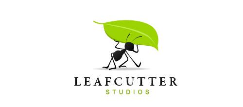 Ant leaf logo