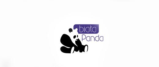 Food cafe panda logo
