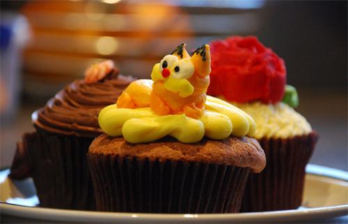Garfield cupcake design inspiration