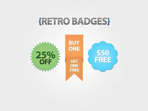 Free vintage Badge