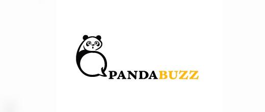 Bee sting panda logo