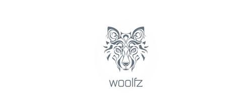 WOOLFZ Logo Design