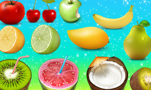 fruit frutas icons