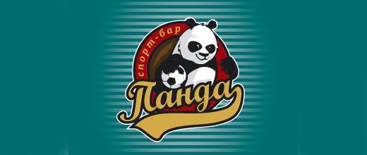 Sports panda logo