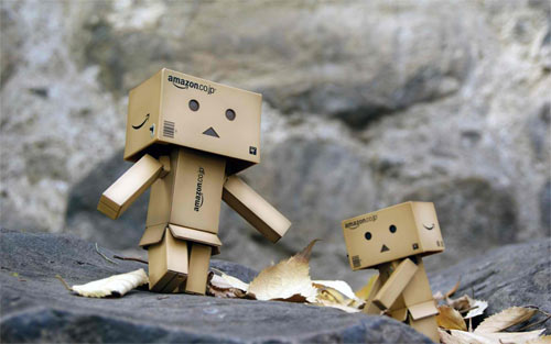 Little Danbo wallpaper