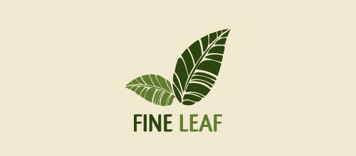 Fine leaf logo