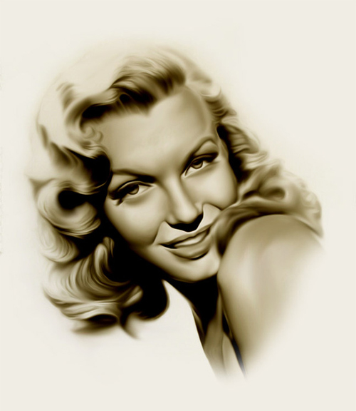 Nice marilyn monroe artworks illustrations