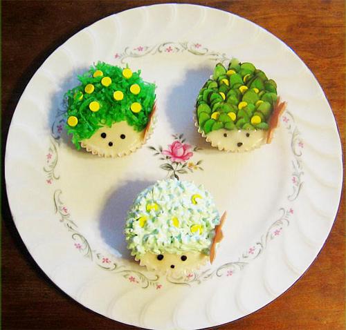 Shaymin cupcake design inspiration