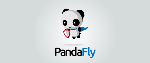 Hero shield panda logo