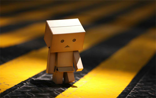 Alone Danbo wallpaper