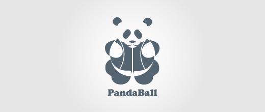 Ball panda logo