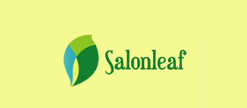 Salon leaf logo
